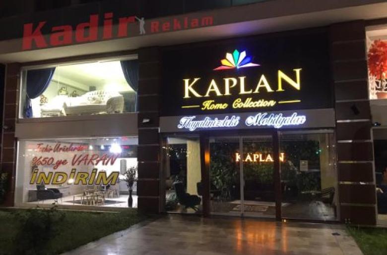 Kaplan Home Işıklı Tabela