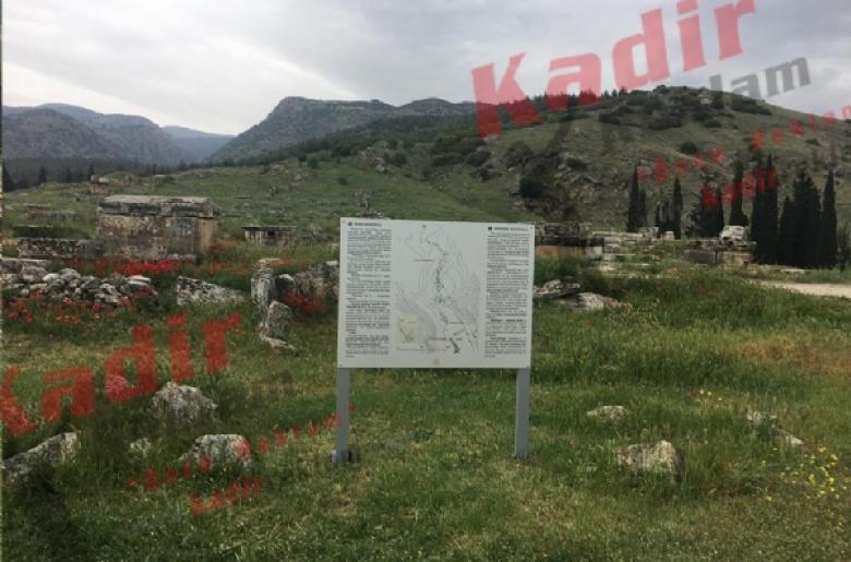 Kültür Ve Turizm Bakanlığı Pamukkale Hıerapolice Örenyeri Tabelaları