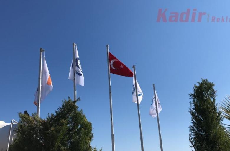 Atilla İnşaat Bodrum Çoklu Bayrak Direği