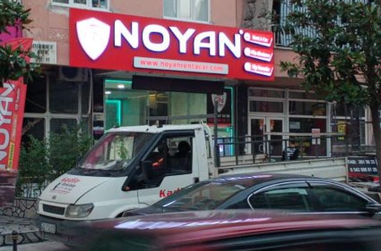 Noyan Rent A Car Tabela